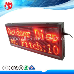 2016 Hot Selling P10 Red Color Display LED Modules pictures & photos