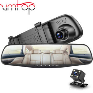New 4/'/' HD 1080P Car DVR 3 Camara Lens With Rear View Video Recorder Camcorder