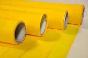 Dpp68t-64y Yellow Monofilament Polyester Printing Screen Mesh pictures & photos