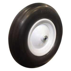 "16 Inch 16""X4.00-8 Flat Free PU Foam Wheel pictures & photos"