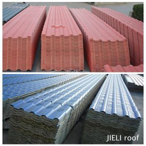 Excellent Waterproof Plastic Villa Roof Tiles pictures & photos