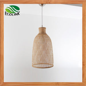 Bamboo Weaving Lamp Bamboo Ceiling Light pictures & photos