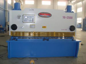 Hydraulic Guillotine Shear Cutting Machine (HTG-16X2500)
