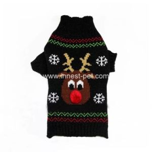 Holiday Dog Supply christmas Pet Clothes Puppy Sweater