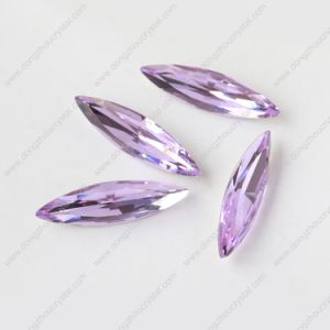 High Quality Eyes Shape Crystal Beads for Garment Accessories (DZ3017) pictures & photos