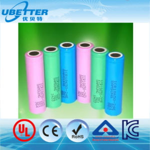 Li Ion Battery Cell 18650 Lithium Ion Battery Cell Bis Ce RoHS Certificate pictures & photos