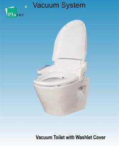 Vacuum Toilet with Washlet Cover pictures & photos