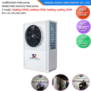 150L 200L 260L Allin One Air Source Heat Pump Heater pictures & photos
