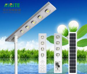 Ce Certification IP65 LED Solar Street Light and Lithium Battery