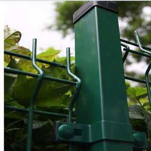 3 Bendings PVC Coated Welded Garden Fence-Construction &Building Fare in Dubai
