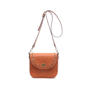 Retro Style Turn Lock Lady Cross Body Bag (MBNO043013) pictures & photos