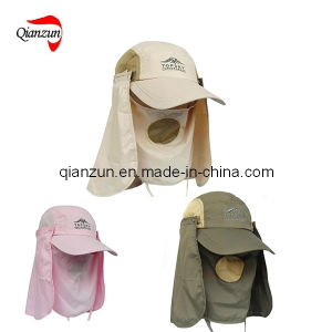 5 Panel Outdoor Hood Fishing Hat pictures & photos
