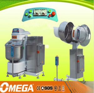 Stainless Steel Housing and CE Certification Professional Electric 2 Speeds Spiral Dough Mixer pictures & photos