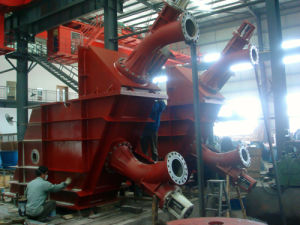 Double Nozzles Horizontal Pelton Turbine Unit pictures & photos