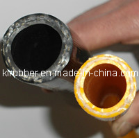 PVC Double-Layer Hose for Family LPG Hose pictures & photos