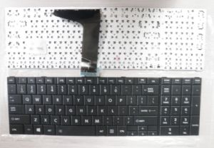 Original Us Layout Laptop Keyboard for Toshiba L850c855 C870 L870 pictures & photos