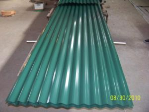 Corrugated Metal Roofing Sheet with PPGI Material pictures & photos