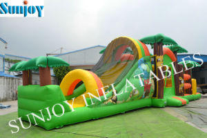 Inflatable Jungle Slide Combo