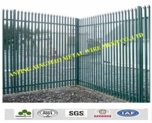 China Garden Fence/6′x9.5′ Canada Steel Construction Panel Fence (XM-115) pictures & photos