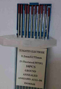 Tungsten Electrodes Wt20 Ground and Annealed (10PCS) pictures & photos