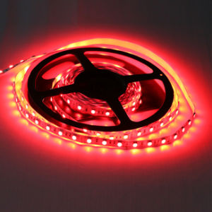 High Brightness IP67 Red Color SMD5050 Chip 60leds 14.4W DC12V LED Strip pictures & photos