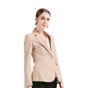 Good Quality Classic Business Women Office Ladies Blazer pictures & photos