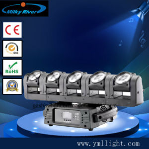 5 Heads Moving Head 12W RGBW Changeable Colors for DJ Lighting pictures & photos