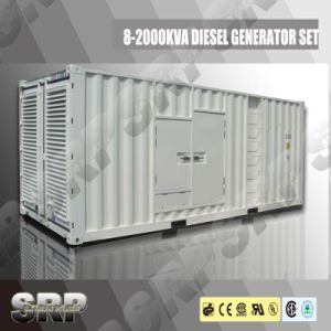 50Hz 1485kVA Silent Type Diesel Generator Powered by Cummins (DP1485KSE)