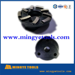 Metal Bond Marble Diamond Grinding Shoes with 10 Segments