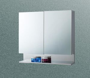 Stainless Steel 2 Doors Medicine Cabinet with Shelf