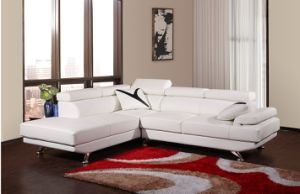Pleasant Middle Size White Corner And Chaise Leather Sofa Machost Co Dining Chair Design Ideas Machostcouk