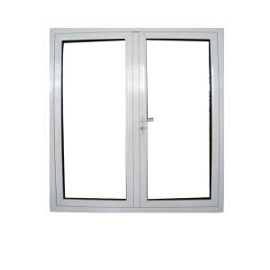 Double Glass Horizontal Pattern Outswing Aluminum Window and Door pictures & photos