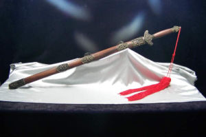 Longquan Jian Sword for Cutting Practice/Chinese Double Edge Sword