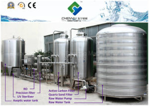 Stainless Steel Pure Water Treatment Machine pictures & photos