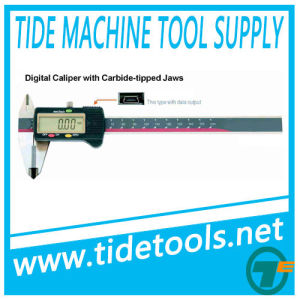 Digital Caliper with Carbide Tipped Jaws