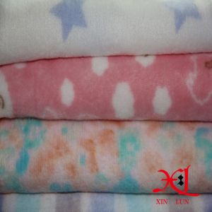 Printing Double-Sided Coral Flannel Pajamas Home Clothes Fabrics pictures & photos