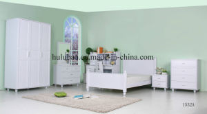 China Factory Design Korean Style Kids Furniture for Hotel Bedroom Set (1532A)