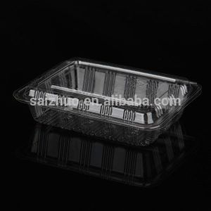 Rectangular BOPS Disposable Plastic Sushi Cake Snack Tray (SZ-013) pictures & photos