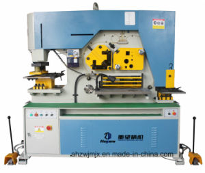 Q35y-25 Hydraulic Combined Punching and Shearing Machine