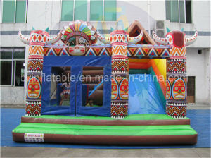 Children Inflatable Bouncer with Slide for Sales