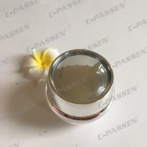 30g Pearl White Acrylic Cream Jar for Cosmetic Packaging (PPC-ACJ-117) pictures & photos