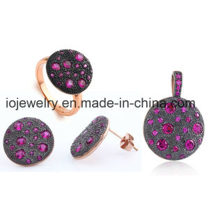 High Quality Fashion Crystal Jewelry Set pictures & photos