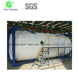 800m3/H Gas Supply Liquefied Natural Gas Medium Tank Container