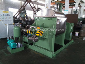 PLC Control Vacuum Kneader with Strainer of Screw Discharging Extruder for Silicone Compound Rubber, Gum, pictures & photos