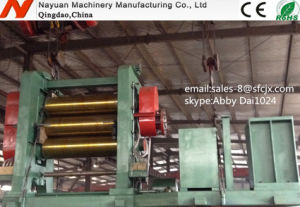 Tree Rolls Rubber Calender Machinery for Rubber Sheet