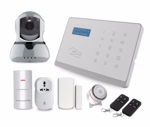 2017 Hottest GSM WiFi Security Alarm System IP Camera Wireless Home Burglar Alarm & Smart APP WiFi Intruder Alarm pictures & photos