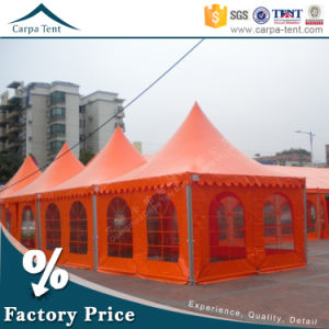 Factory Wholesale 5mx5m Colorful Aluminum Frame Outdoor Pagoda Tent pictures & photos