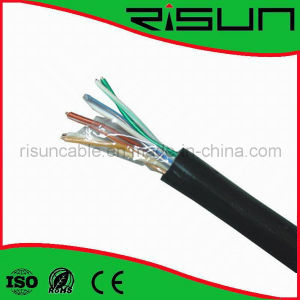UTP Cat5e Network Cable (Jelly compound) UV, Fr Jacket pictures & photos
