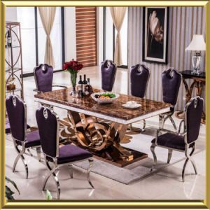 China Home Dining Table Set/Dining Room Furniture/Glass ...