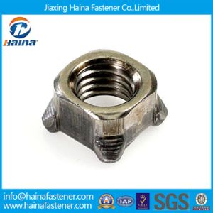 DIN928 M6-M24 Stainless Steel 304 316 Square Weld Nut pictures & photos